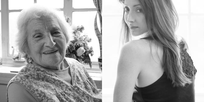 PicMonkey Collage me and grandma